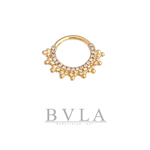 Gold septum ring from BVLA